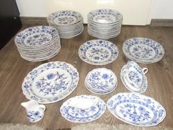 Régi meisseni porcelán étkészlet 40 db
