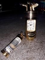 ROYALE quartz JAPÁN MOVT utazó óra és csiszolt kristály medál