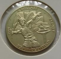 Libéria 5 dollár 2000.