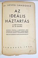 Dr. Hevesi Sándorné, Az ideális háztartás