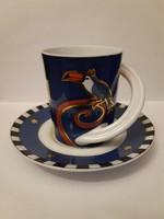 Rosenthal espresso design csésze aljjal