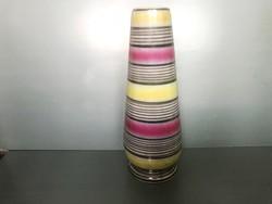 Retro kerámia váza, 29 cm.