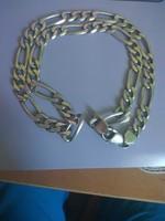 Férfi ezüst nyaklánc!