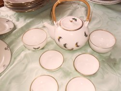Kínai pillangos teás szett