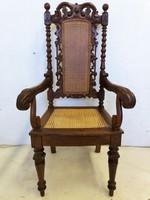 Antik reneszánsz fotel-karosszék
