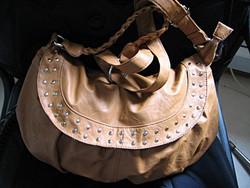 Retro barna táska