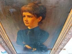 BIEDERMEIER 1892 alkotás,63x105-s