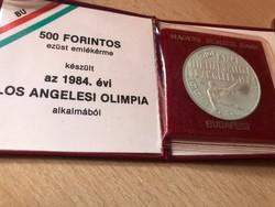 Los Angeles ezüst 500 FT ,eredeti MNB tok 28 gramm