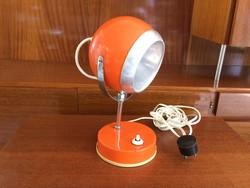 Retro állítható asztali gömb lámpa