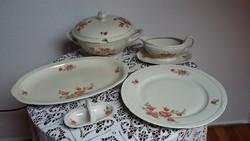 Porcelán Bavaria tálaló készlet (60. éves - jubileumi: 1940.)