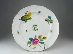 0O961 Antik Herendi porcelán tányér 25 cm