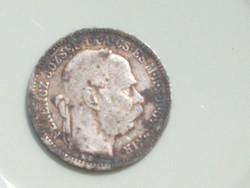 Ferenc József 1893 ezüst 1 korona