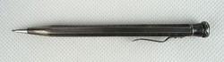 0R482 Antik különleges 900-as ezüst ceruza 11.5 cm