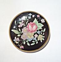 Seltmann Weiden virágos porcelán bross