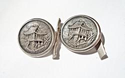 Vietnámi ezüst mandzsettagomb