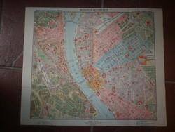 Régi budapest térkép magyar kir állami térképészet