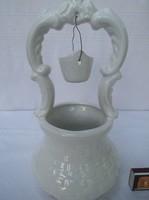 Gyönyörű porcelán váza nagyméretű 30 x 15 cm
