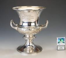 Ezüst díszkupa - Halassy Olivér olimpiai bajnok emlékére