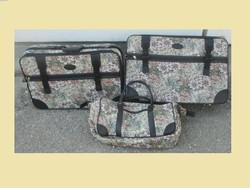 3 részes Vintage bőrönd