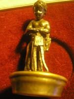 Antik Puttós bélyegzőnek  vagy .palackhoz figurális dugónak is