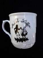 Árnyképes Mozart tejeskávé csésze 3.