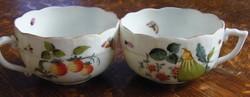 Antik Herendi teás csészék! 1800-as évek