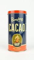 0S034 BENSDORP holland kakaós pléh doboz