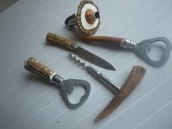Agancs nyelű használati tárgyak
