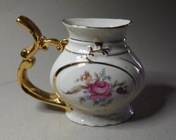 Rózsás porcelán ,kancsó ,váza