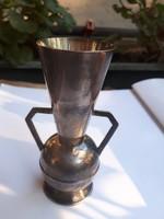 Jelzett ezüst váza