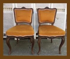 2db neobarokk szék