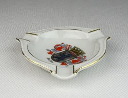 0R476 Régi Langer és Jahn porcelán hamutál