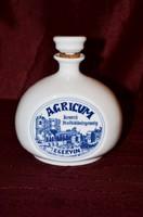 Alföldi porcelán butella ( AGRICUM Keserű Italkülönlegesség )  ( DBZ 0099 )