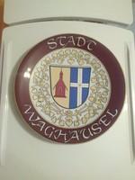Lusa kerámia címer, címeres falitányér, falidísz 30 cm.