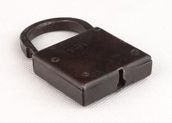 0R045 Antik jelzett PATENT FORT kovácsoltvas lakat
