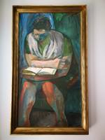 Szurcsik  János  festménye