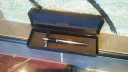 Waterman 18k gold pen (18 karatos atany töltőtoll) Zsebkopott állapotban, új senator tintapatronnal