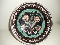 Kerámia fali tányér - mély (d:19,5 cm)