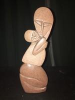 Lazarus Tandi afrikai művész Art Deco szobor