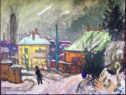 Téli utca - Sugár Gyula