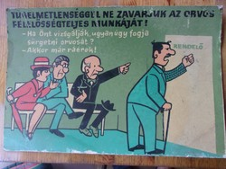 Régi plakát az orvosi rendelőből