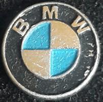 BMW kitűző kabáthajtűs,festett alumínium,  mérete:10mm