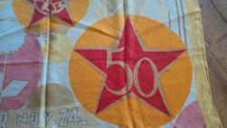 Retró 50 éves Kommunista relikvia, kendó