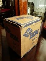 KURIÓZUM! AGFA Box 6*9 antik fényképezőgép gyári dobozában kb.1935-40-es évek
