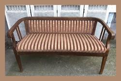 Szecessziós kanapé,szófa