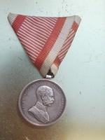 Ferencz József ezüst vitézségi kitüntetés