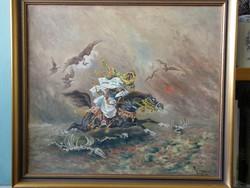 Nagyon ritka Adolf Wiesner festmény