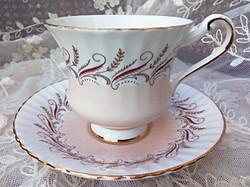 Paragon púderrózsaszín angol teás csésze