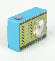 0R584 Régi Ruhla Sumatic kisméretű ébresztős óra