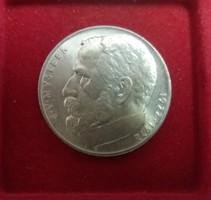Nagyon szép Csehszlovák ezüst 50 Korona 1972, 13 g.